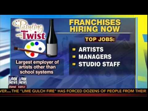 Painting With A Twist On Fox News 6 20 2013 Youtube