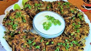 Драники из картофеля с грибами .Как легко , просто и быстро приготовить вкусные драники с грибами .