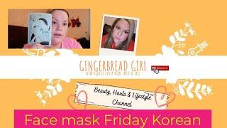 Face mask Friday Korean