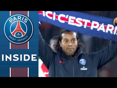 INSIDE - PARIS SAINT-GERMAIN vs AS MONACO with Ronaldinho