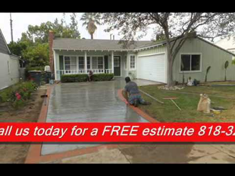 Cement Fix on driveway Los Angeles