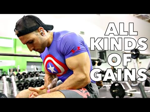Full Day Of Eating Ep.15   The Strongest I've Ever Been?
