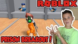 JAILBREAK OBBY! LET'S BREAKOUT OF THE PRISON in ROBLOX
