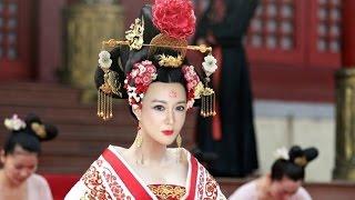 ♛[QQ仿冰冰]平民版武媚娘妝容 The Empress Of China Makeup Tutorial
