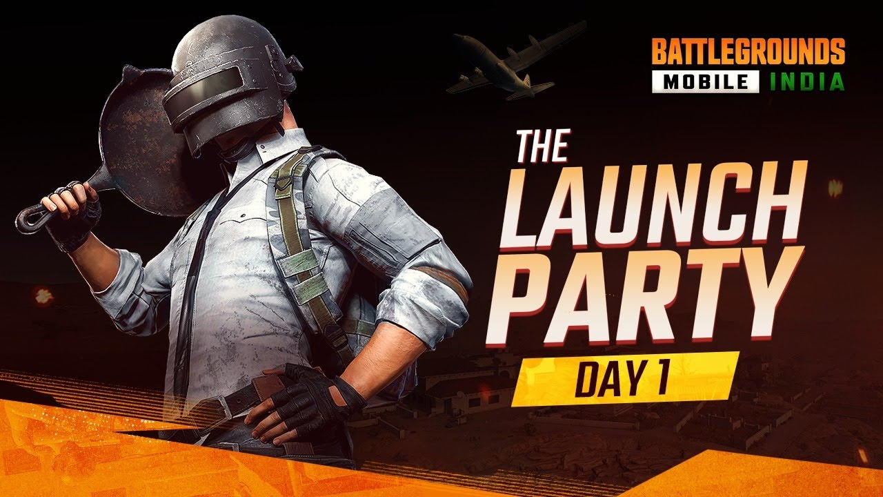 THE LAUNCH PARTY [DAY 1 - HINDI] - BATTLEGROUNDS MOBILE INDIA