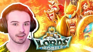 ¡MI PRIMERA VEZ en LORDS MOBILE!