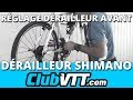 watch he video of Réglage dérailleur avant vtt - 025