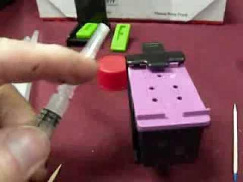 Ink Refill Kit for HP Envy 5530, Envy 4500, HP 61 Cartridges