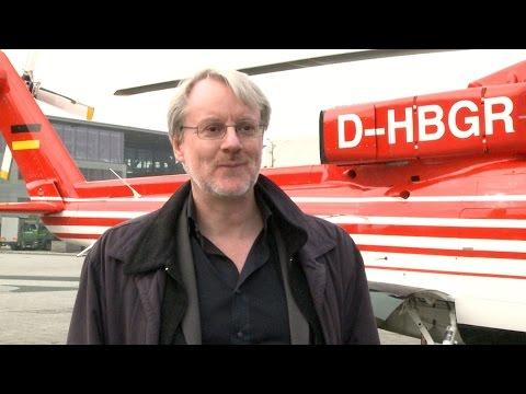 Pressetermin: BGR-Hubschrauber landet auf Messegelände Hannover