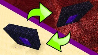 How To Link Nether Portals in Minecraft