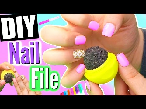 DIY EOS NAIL FILER! Make An EOS Nail File!
