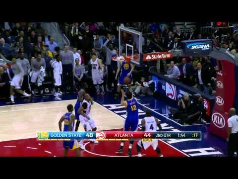 Golden State Warriors vs Atlanta Hawks |  Full Highlights  | Feb 6, 2015   NBA Season 2014 15