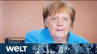 BUNDESTAG GRILLT KANZLERIN: Angela Merkel in der Regierungsbefragung