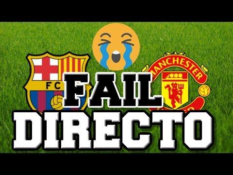 DIRECTO FAIL 😭😞 REACCIÓN AL SORTEO CHAMPIONS CUARTOS DE FINAL: BARCELONA vs UNITED   ☎ A NACHO PEÑA