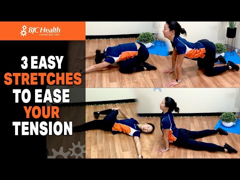 3 Stretches to help ease Mid-day Back Discomfort