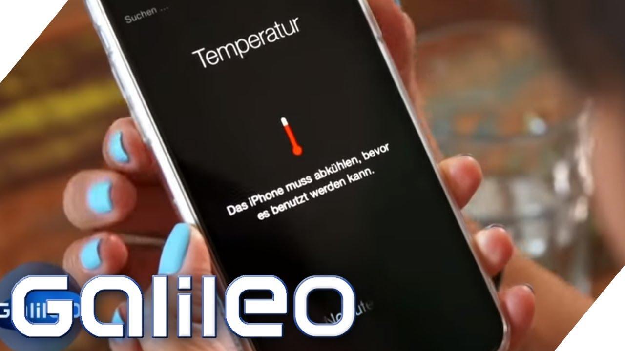 Wenn der Handykollaps droht: Coole Tricks für heiße Tage | Galileo | ProSieben
