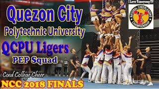 Quezon City Polytechnic University QCPU Ligers Pepsquad Coed College Cheer NCC 2018 FINALS