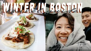 Video WHAT TO DO + EAT IN BOSTON I WINTER EDITION TRAVEL GUIDE download MP3, 3GP, MP4, WEBM, AVI, FLV Oktober 2018