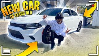 BUYING MY DREAM CAR AT 18! SCAT PACK CHARGER 😭🔥 | PAPPIIQ