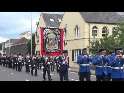 Brookeborough Flute Band @ County Fermanaghs Black Saturday 2015
