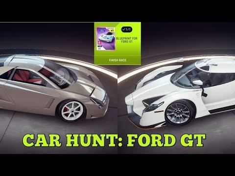 Asphalt 9 - Car Hunt: FORD GT (Cadillac Cien & SCG 003)