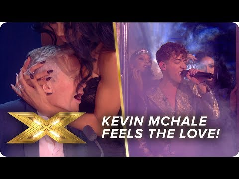 Kevin McHale feels the LOVE with a disco classic | Live Show 4 | X Factor: Celebrity