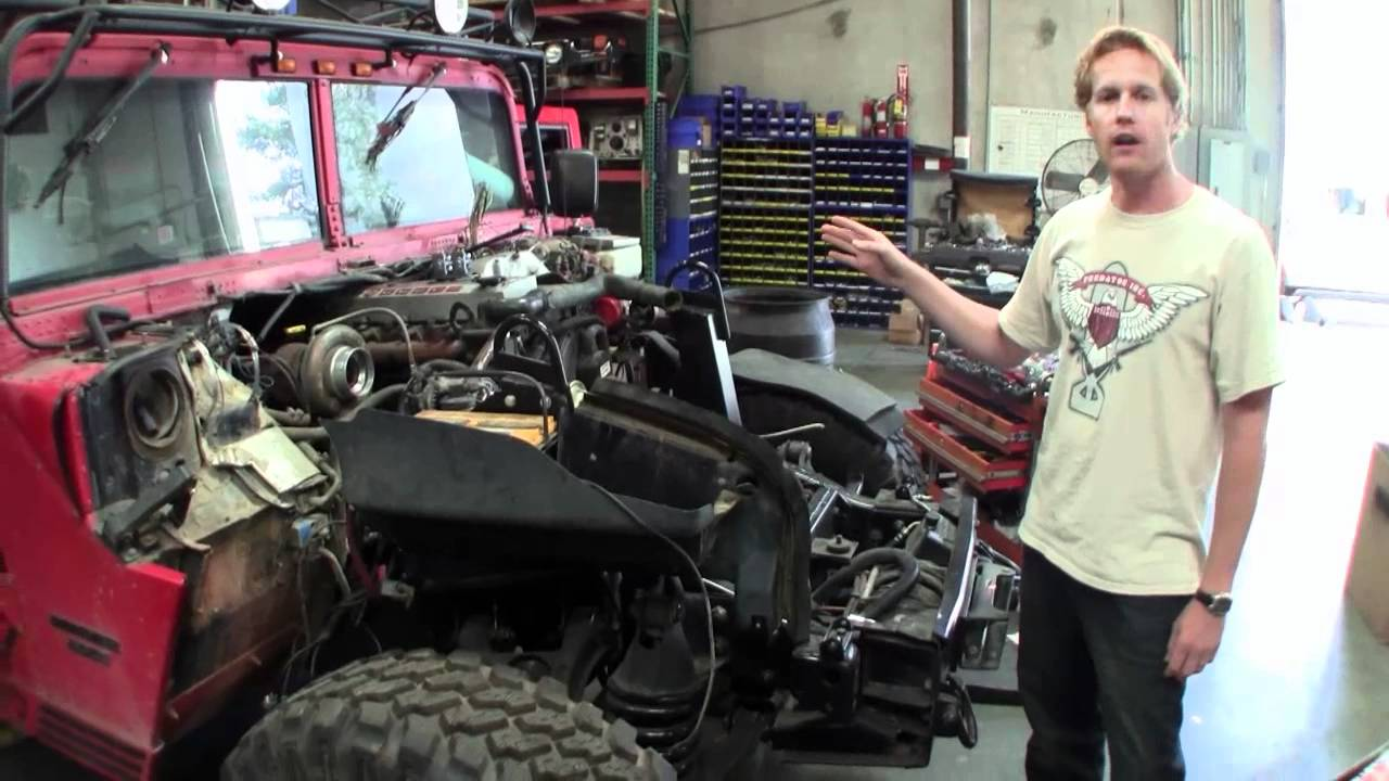 Jared Cummins H1 Predator Conversion Mp4 Youtube