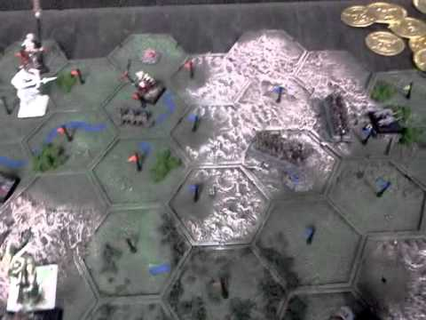 Warhammer fantasy campaign map. - YouTube
