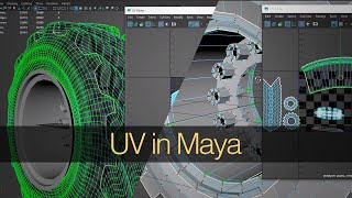 UVing in Maya