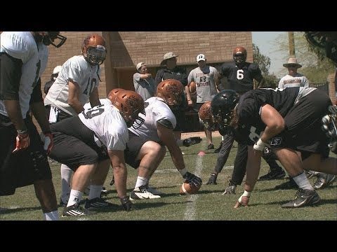 Arizona Rattlers Linemen 2014
