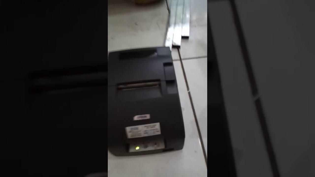 Printer Kasir Epson Tm U220 Auto Cutter Usb Port Youtube Head Tmu 220 New