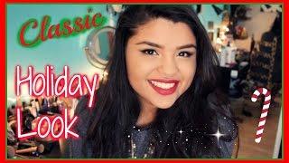 Classic Holiday Look | Makeup Tutorial Thumbnail