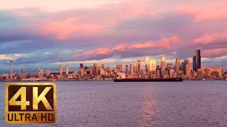 Seattle The Emerald City, Episode-3, Relaxation Video, Trailer in 4K Ultra HD