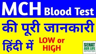 MCH Blood Test Kya Hota Hai, MCH Blood Test Low Or High Meaning, Normal Range, Full Form, In Hindi