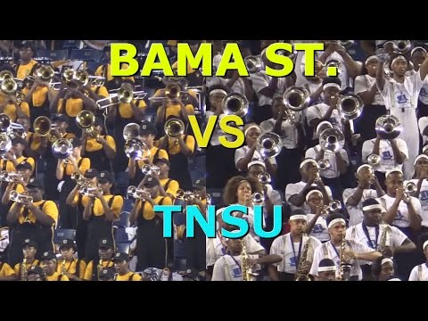 Alabama State Band vs TNSU 5th Quarter 2015