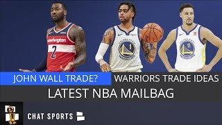 NBA Mailbag: John Wall Trade, Dwight Howard Future, Andrew Wiggins To Mavs & Warriors Trade Ideas
