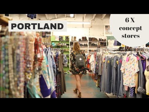 6 X the best CONCEPT STORES & SHOPPING in Portland (Oregon) // Your Little Black Book