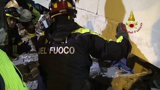 Terremoto in Albania. Già operative le squadre dei Vigili del Fuoco Italiani a Durazzo e Shijak
