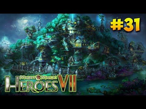 Герои 7 - Прохождение #31 Лесной союз (Опасности моря и ужасы войны) Сумеречная одиссея