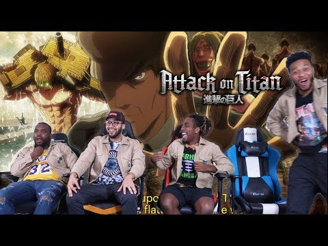 "EREN ""THE OWL"" KRUGER! Attack on Titan 3x20 REACTION/REVIEW"