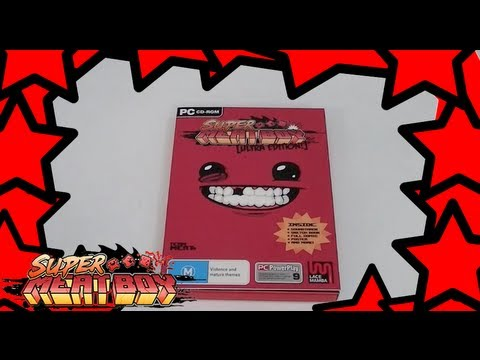 super meat boy ultra edition unboxing
