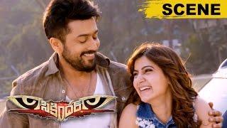 Vidyut Jamwal Surprises Surya With Samantha - Love Scene - Sikandar Movie Scenes