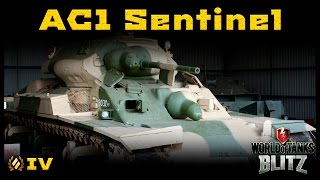 Обзор AC1 Sentinel - Мужицкий танк. Часть 1 [WoT: Blitz]