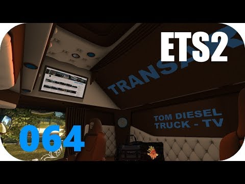 ETS2 v1.30 | 064 | TransArt: LKW wechsel dich - von Leipzig über Kassel nach Paris