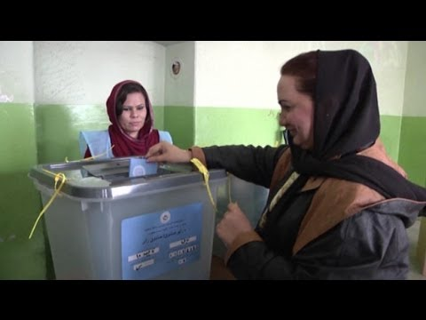 Afghanistan goes to the polls in historic elections