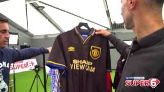 Class Of 92 Choose Their Favourite Manchester United Kit