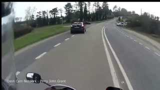 Reckless driver causes motorcycle accident    - Think Bike!
