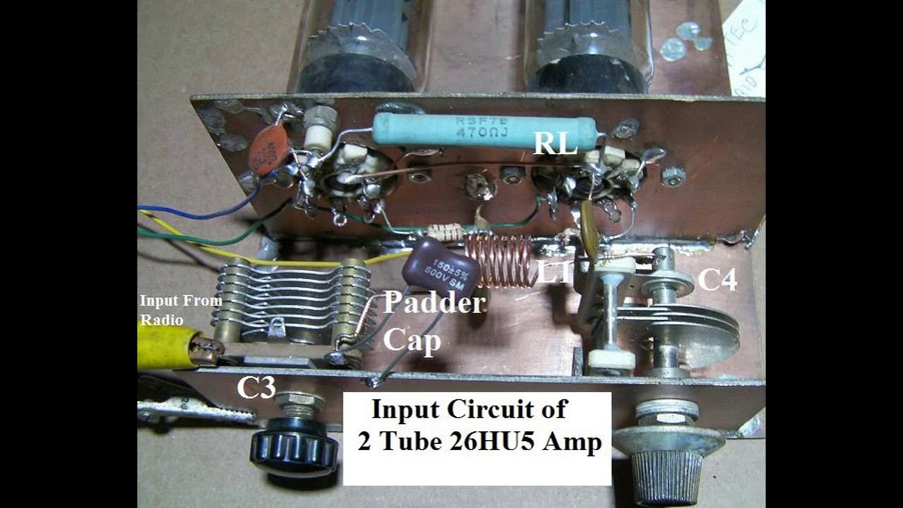 Build a Tube Type Linear Amplifier For CB Or Other HF Bands Part 3 Working  with PI Networks