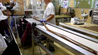 Kilwin's Chocolate Factory Taffy Cutting Wrapping Machine (adventure 2012)