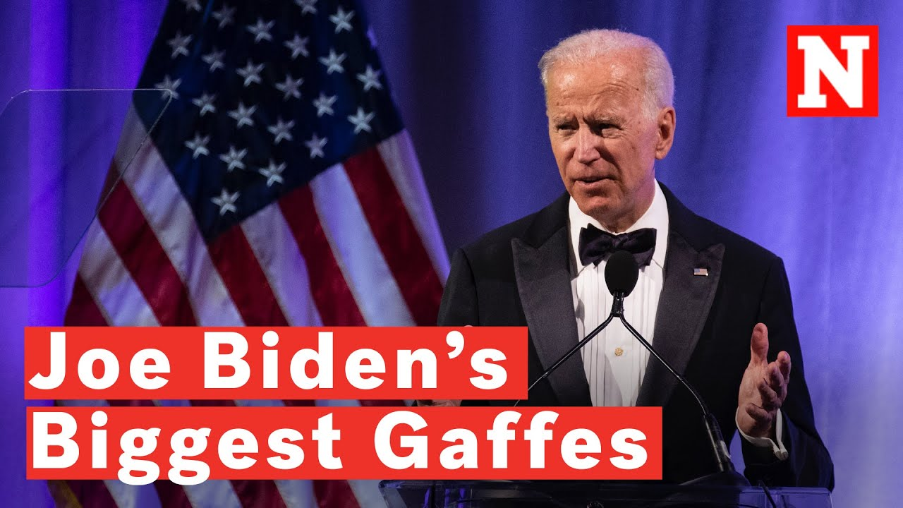 Joe Biden's Biggest Gaffes - YouTube